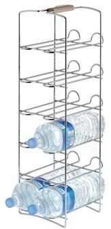Range bouteille vertical pour 12 bouteilles vin eau et soft