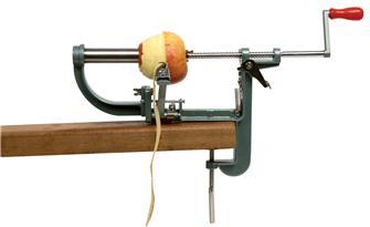 Pèle et vide pomme à étau