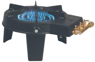 Réchaud à gaz en fonte 3 robinets de 9200 W