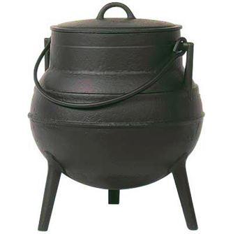 Chaudron fonte 30 litres