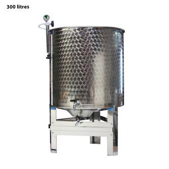 Cuve inox garde vin 300 l. complète