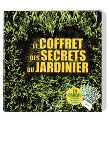 Coffret de 3 livres des secrets du jardinier