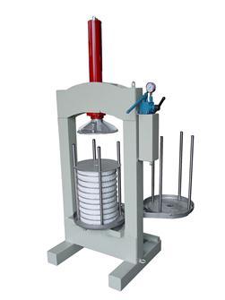 Pressoir à olives hydraulique manuel 30 kg/h