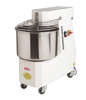 Pétrin de boulanger électrique avec cuve inox 24 litres
