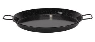 Plat à paella émaillé 46 cm