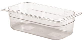 Bac gastro sans BPA GN 1/3 h. 10 cm en copolyester