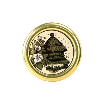 Capsules Twist-off miel ruche 63 mm par 10