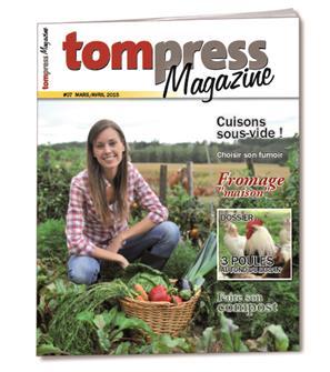 Tom Press Magazine mars-avril 2015