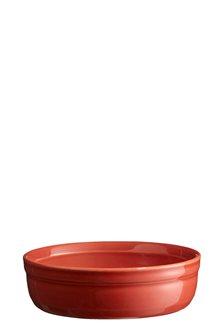 Ramequin à crèmes brûlées rouge Brique Emile Henry 13 cm