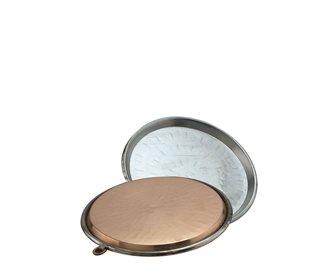 Plat à socca en cuivre 30 cm