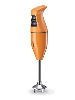 Mixeur plongeur Bamix premier prix 120 W Pop orange