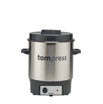 Stérilisateur électrique inox Tom Press