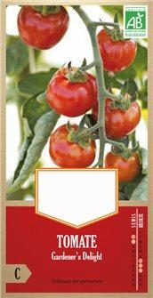Graines de tomate gardener´s delight