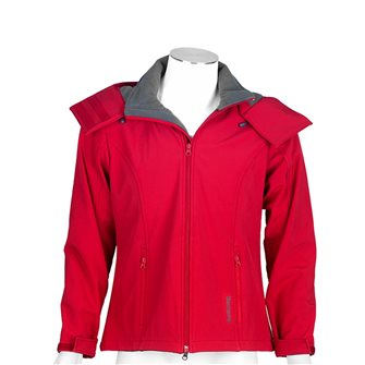 Blouson polaire femme Bartavel Ohio softshell rouge XL