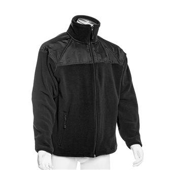 Veste polaire chaude et épaisse noire 3XL empiècements épaules et sous avant-bras Bartavel Artic