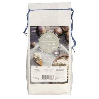 Farine de chataigne ménagère sans gluten 500 g