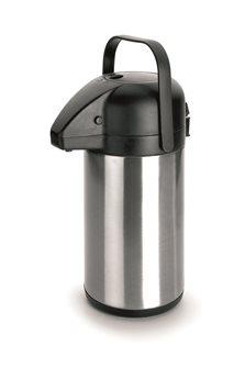 Pichet à pompe isotherme inox 2,2 litres