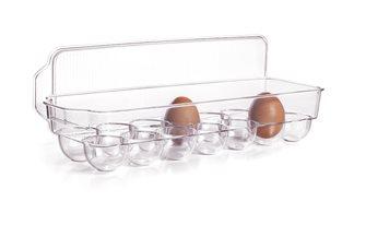 Boîte à œufs 14 places avec couvercle pour réfrigérateur