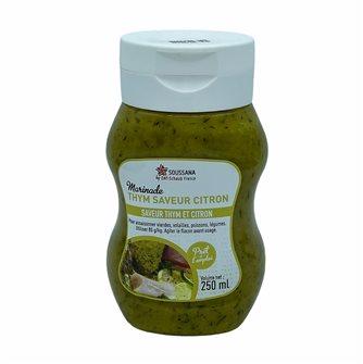 Marinade liquide thym saveur citron flacon 250 ml